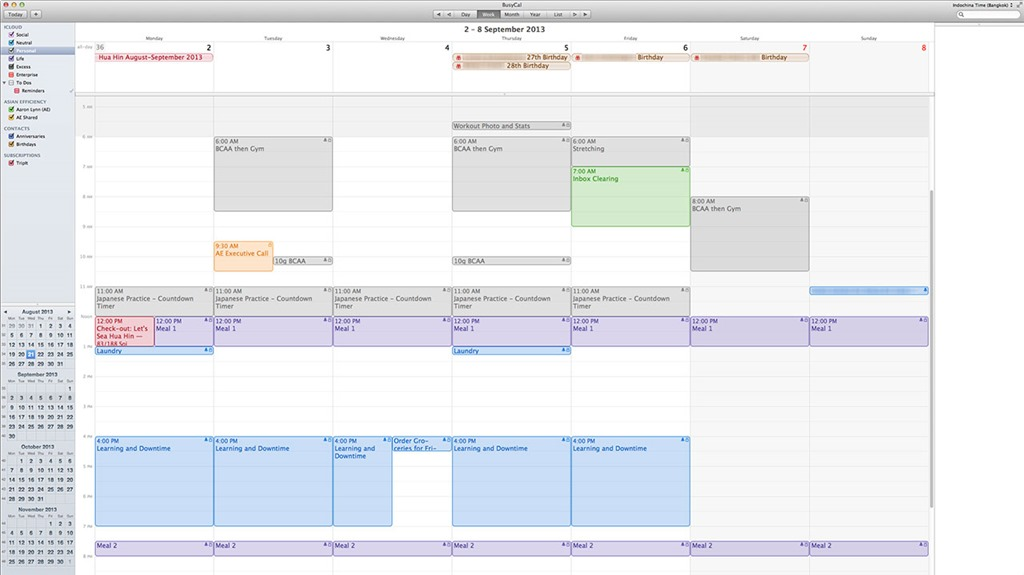 20 Brilliant Calendar & Schedule Management Tips - Account