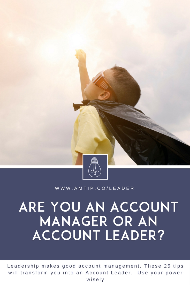 how to become a good account manager