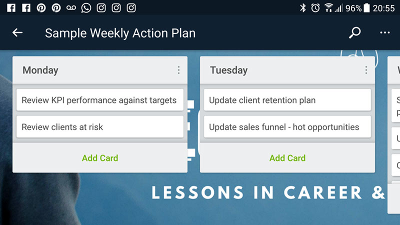 How to use Trello for task management on mobile devices
