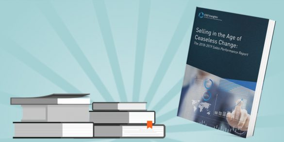 CSO Insights 2019 Sales Performance Report surveyed roughly 900 global sales leaders to identify the objectives guiding sales performance improvement efforts in 2019. These were improving lead generation, capturing new accounts, expanding penetration into existing customers and increasing win rates. The report shows how sales organisations are performing today, how that compares to previous years and what successful companies are doing to improve sales performance.