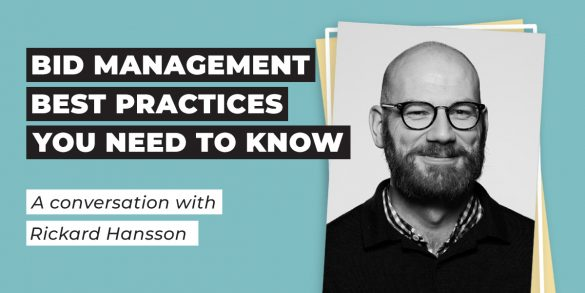 Bid Management Best Practices You Need to Know with Rickard Hansson